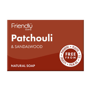 Patchouli & Sandalwood Soap 95g