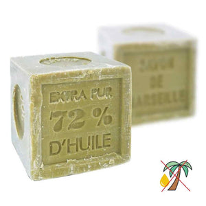 Marseille Soap Cube Verte Olive Oil Traditional French Recipe Cube (Palm Oil Free) 300G