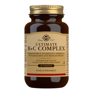 Ultimate B+C Complex - 90 Tablets