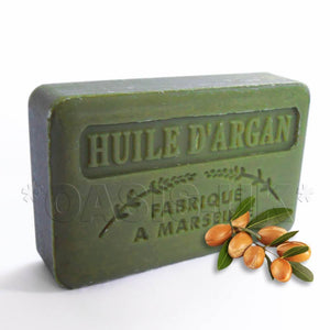 French Marseille Soap Argan Oil (Huile d'Argan) 125g