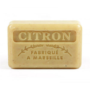 French Marseille Soap Citron broye 125g