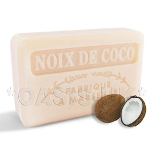 French Marseille Soap Noix de Coco (Coconut) 125g