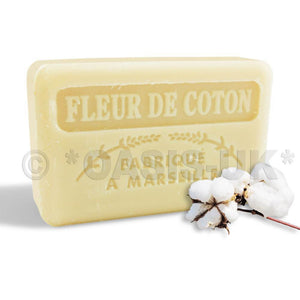 French Marseille Soap Fleur de Coton (Cotton Flower) 125g