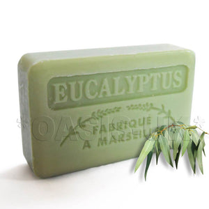 French Marseille Soap Eucalyptus 125g