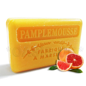 French Marseille Soap Pamplemousse (Grapefruit) 125g