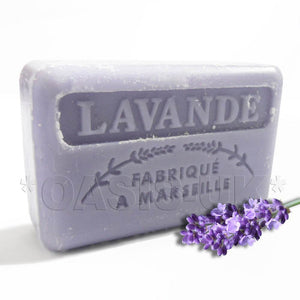 French Marseille Soap Lavende (Lavander) 125g