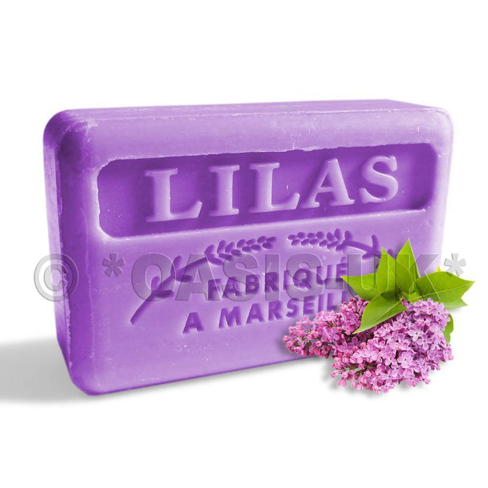 French Marseille Soap Lilas (Lilac) 125g