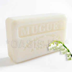 French Marseille Soap Muguet (Lily of The Valley) 125g