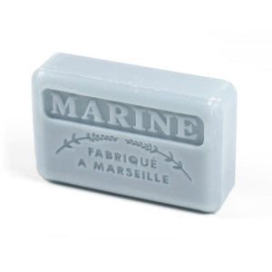 French Marseille Soap Marine (Navy) 125g