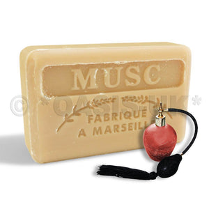 French Marseille Soap Musc (Musk) 125g