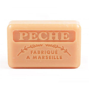 French Marseille Soap Peche (Peach) 125g