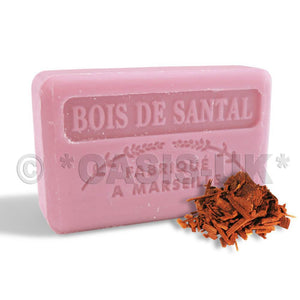 French Marseille Soap Bois de Santal (Sandalwood) 125g