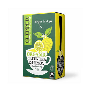 Green Tea & Lemon 20 bags