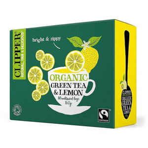 Green Tea & Lemon 80 bags