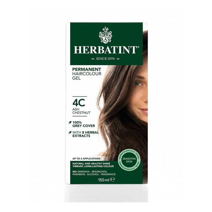 Hair Colour Ash Chestnut 4C 150ml
