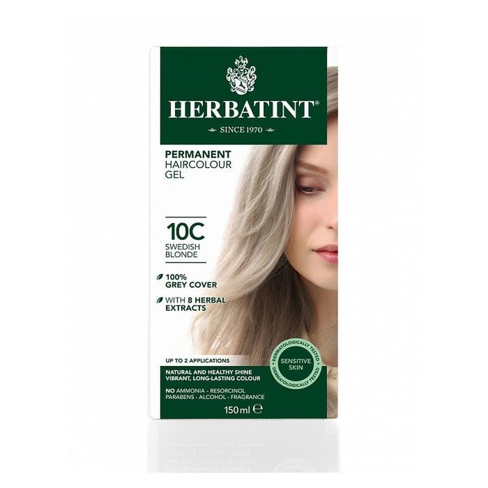 Hair Colour Swedish Blonde 10C 150ml