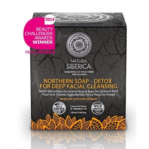 Northern Facial Soap Based on Activated Carbon