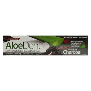 Toothpaste Activated Charcoal 100ml