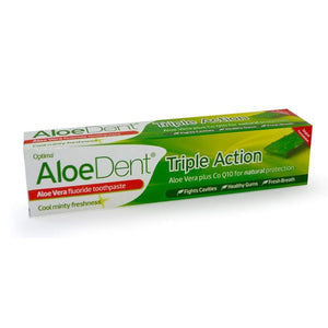 Triple Action Toothpaste With Fluoride 100ml