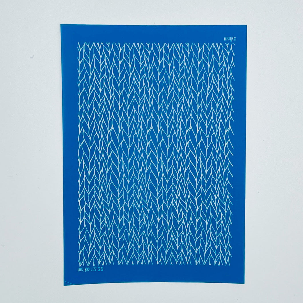 Moiko Silk Screen - 12.32 Knitted