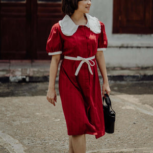 Claudine Cotton Midi Dress