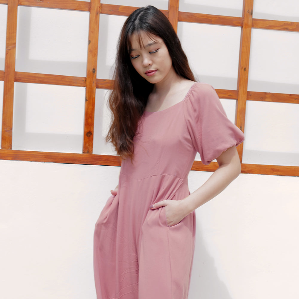 Annalicia Simple Jumpsuit