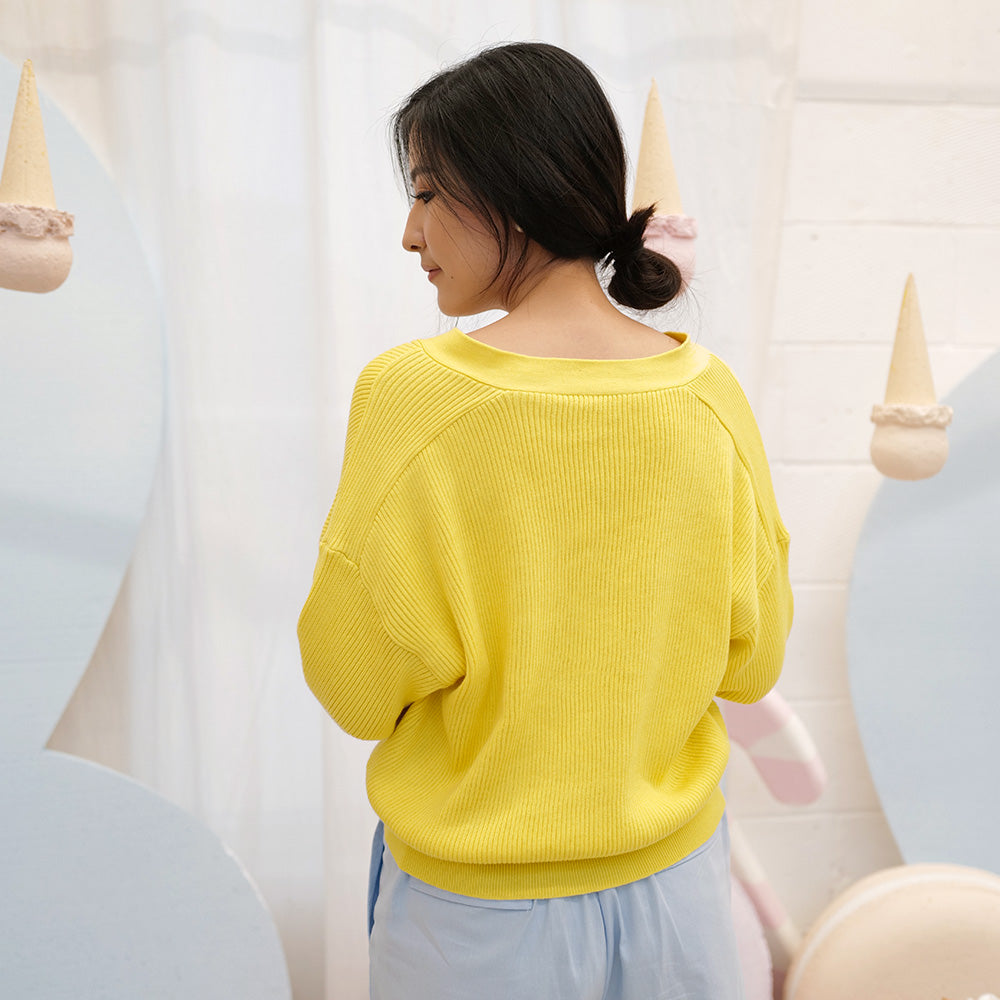 Eeyore Long-sleeves Knit Cardi