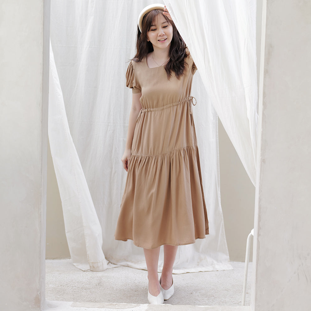 Hana Cotton Midi Dress