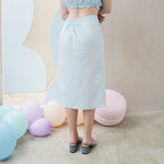 Isyana Cotton Midi Skirt