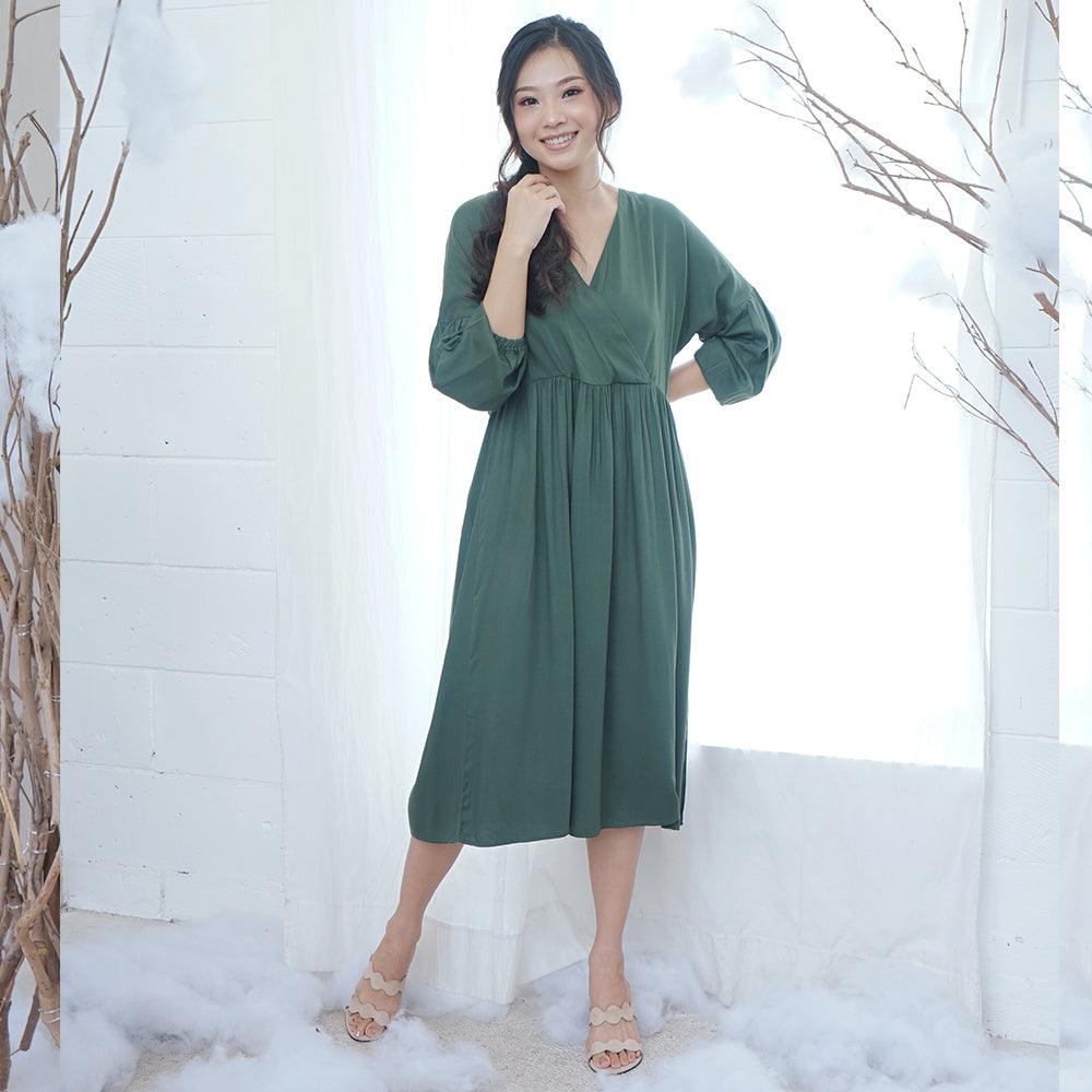 Kay Cotton Midi Dress