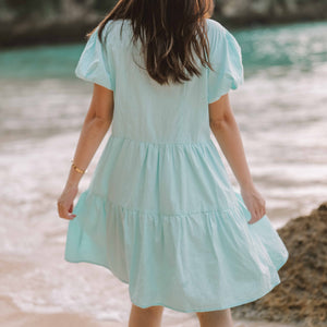 Anchor Cotton Mini Dress