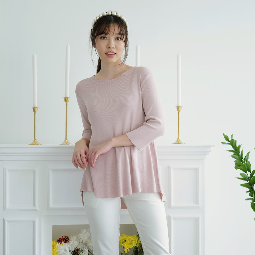 Lamore Simple Knit Top