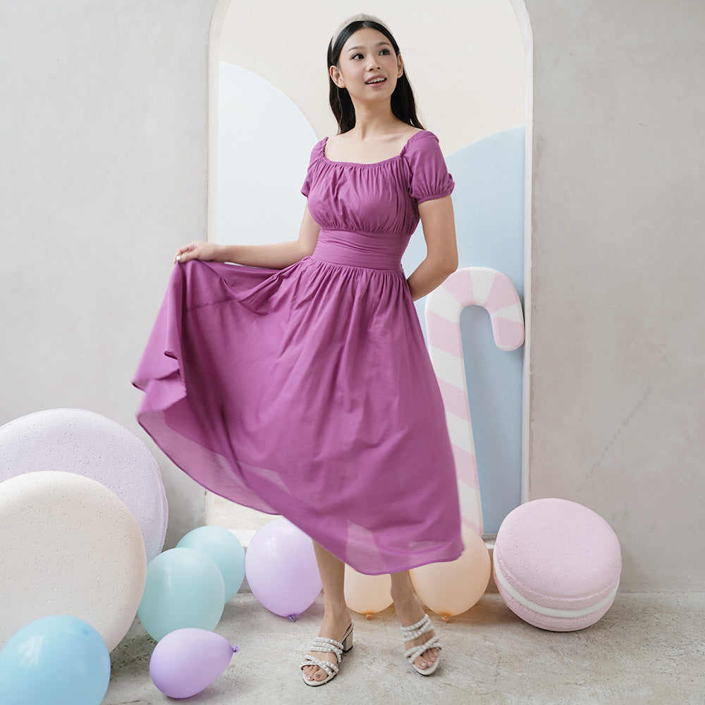 Lovely Cotton Midi Dress