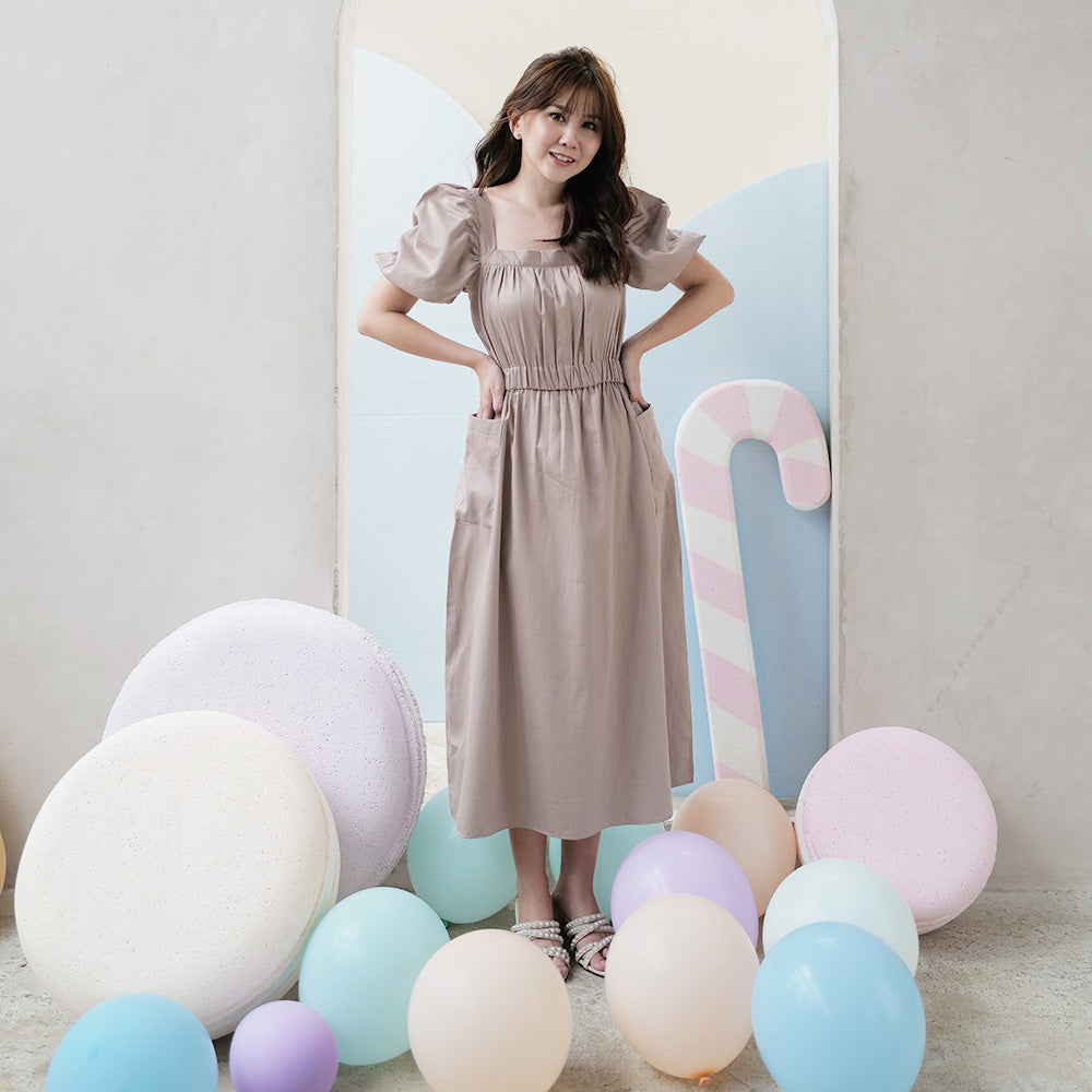 Lulu Cotton Midi Dress