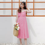 Orena Cotton Tank Dress