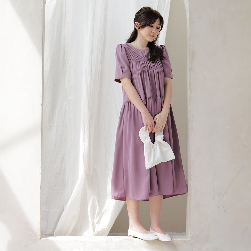 SooJin Korean Midi Dress