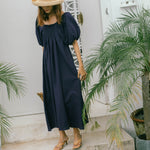 Carissa Cotton Long Dress