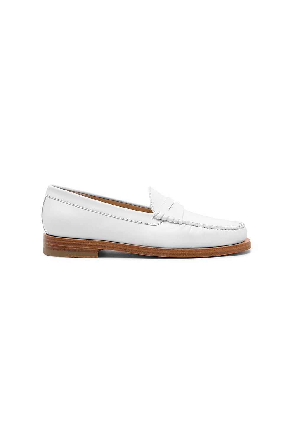 ANNA leather loafers - HAZY
