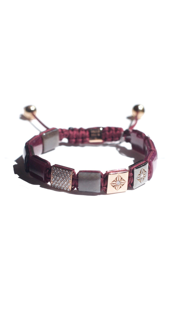 *10mm Lock Bracelet Ruby