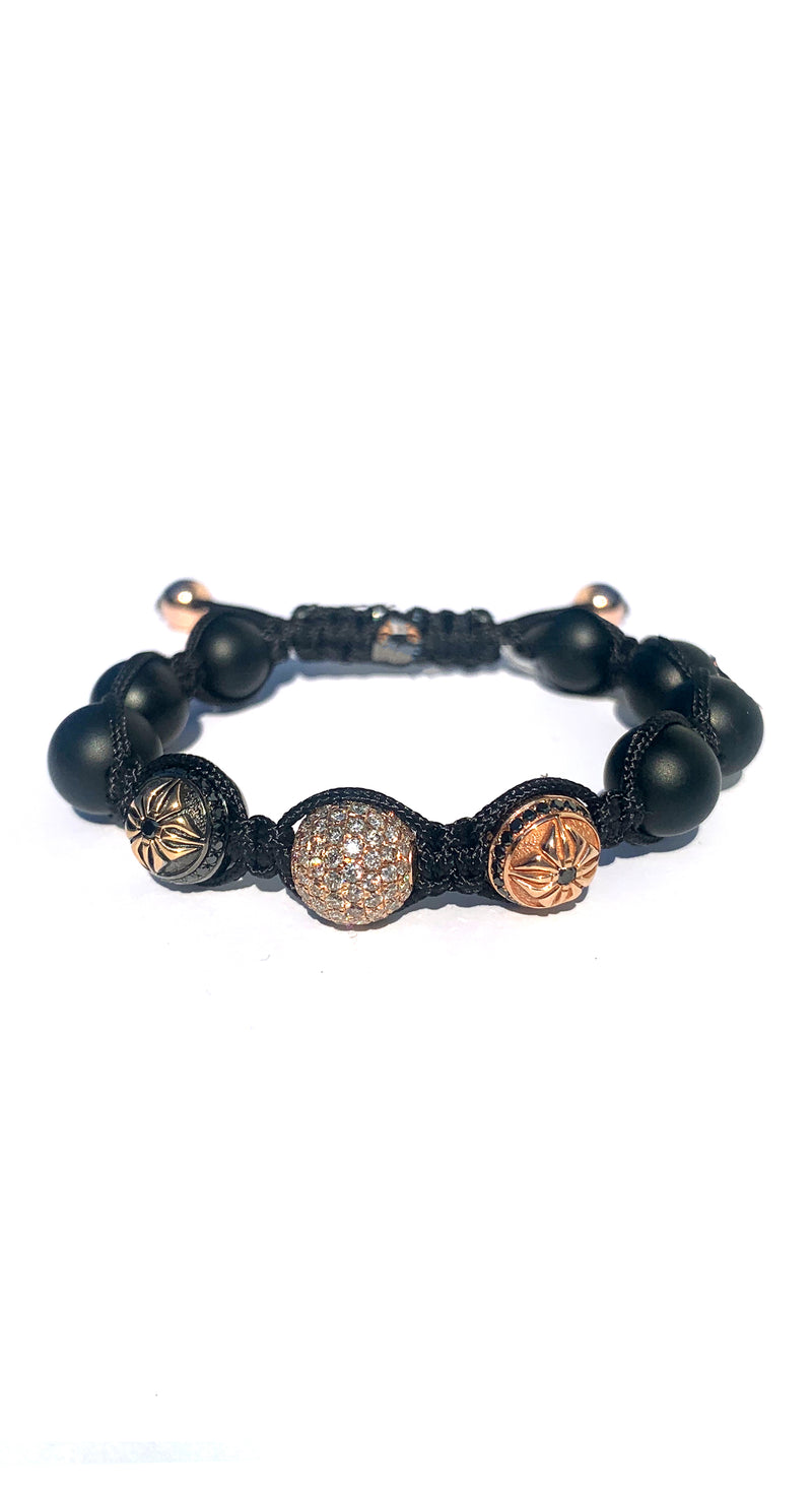 10mm Shamballa Beaded Bracelet #116602