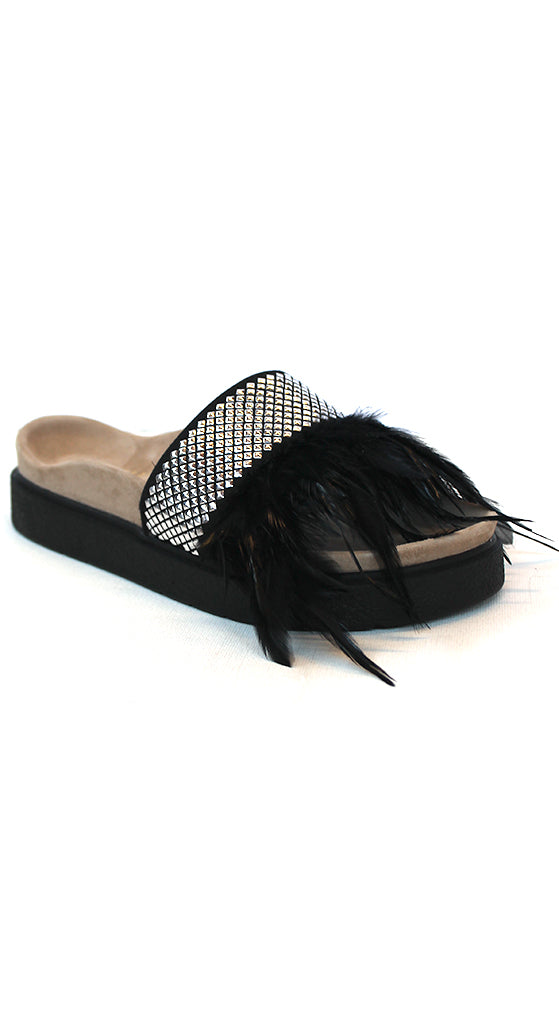 Stud Feather Slides