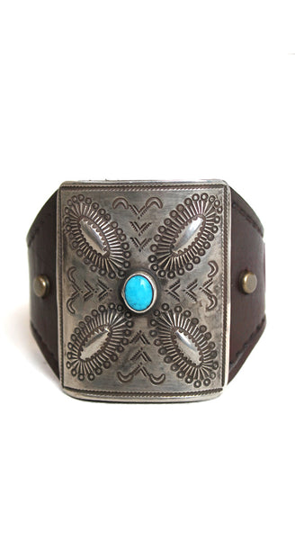 Small Silver Turquoise Ketoh