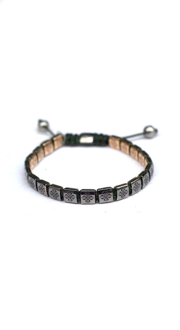 *6mm Lock Bracelet Large Olive