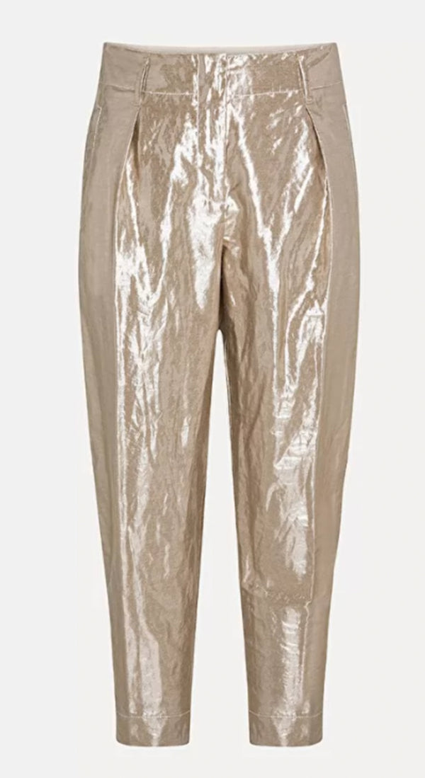 Lurex Linen Viscose Pants