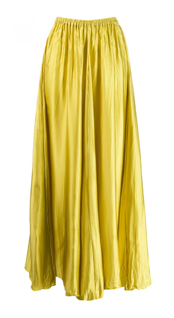 Silk Satin Skirt