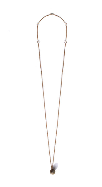 "Yellow Gold BonBon 16""-18"" Adjustable Chain Necklace"