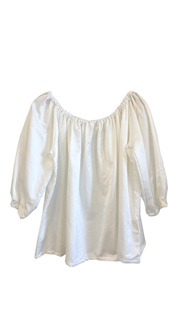 Cassatt Silk Cotton Top