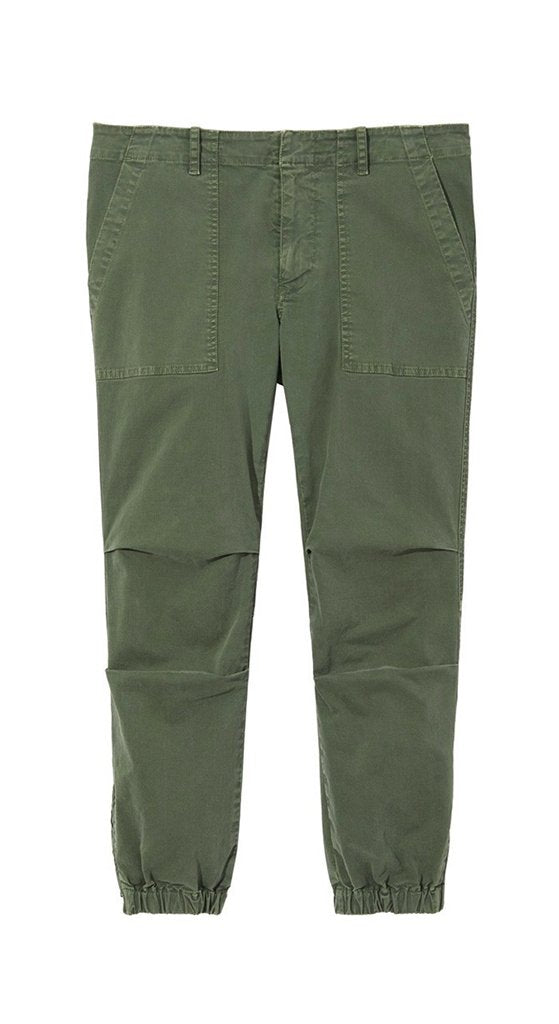 Cropped Military Pant