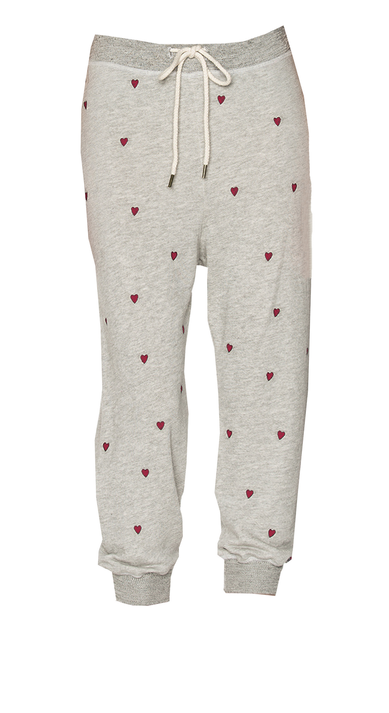 The Cropped Sweatpant Heart