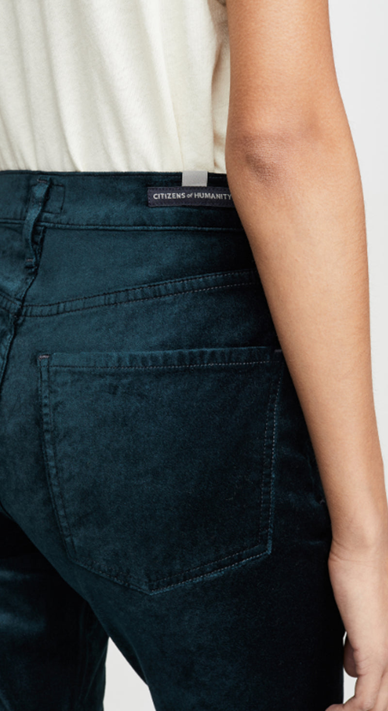 Demy Cropped Flare Pants
